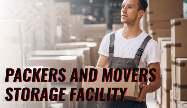 Packers and movers storage facility
